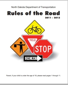 """The Rules of the Road"" North Dakota Edition"