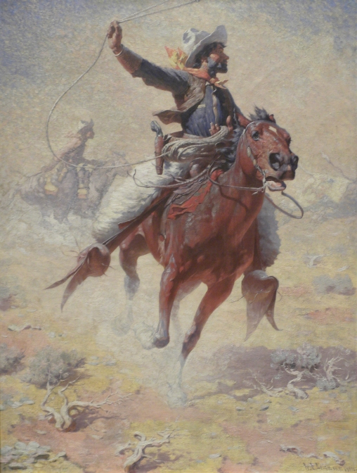 """""""The Roping"""" by William Robinson Leigh"""