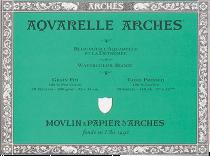 Arches Aquarelle Watercolor Block 140 lb. Cold Press