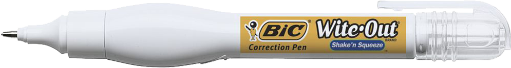 BIC Wite-Out Shake -N Squeeze Correction Pen