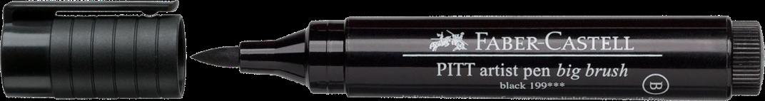 Faber-Castel PITT Artist Big Black Brush Pen