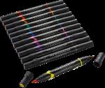 Prismacolor Premier Double Ended Brush Tip & Fine Tip Art Markers