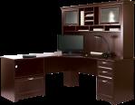 Realspace® Magellan Performance Collection Espresso L Desk