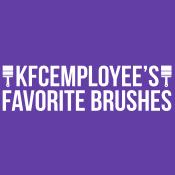 KFCEmployee's Favorite Brushes: Digital Painting Custom Brushes