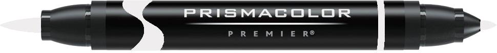 Prismacolor Premier Double-Ended Brush Tip Colorless Blender Marker