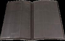 Ultra Pro Premium Pro-Binder Padded Leatherette Sideloading 9-Pocket Card Binder