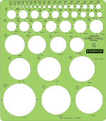 Staedtler Combo Circle Template