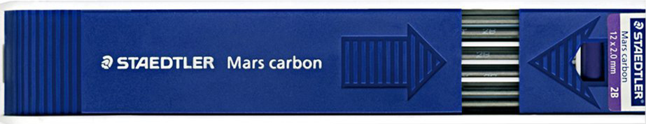 Staedtler Mars Carbon 12x2mm Lead
