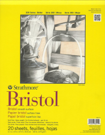 Strathmore Bristol Smooth Paper Pad