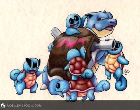 Bullying Blastoise