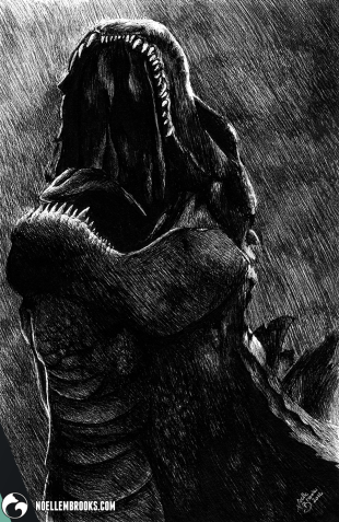 fantasy fantastical myth myths mythical legend legends legendary medieval monster monsters beast beasts creature creatures race races art arts artsy artwork artworks artist artistic image images picture pictures project projects series create creates creative realism realistic detail details detailed soft shading shades gradient gradients black and white achromatic monochromatic monochrome draw drawing drawings drawn ballpoint micron microns white gel pen ink inks line lines linework work hatch hatching cross cross-hatching crosshatching fantasy fantastical mythical myth myths
