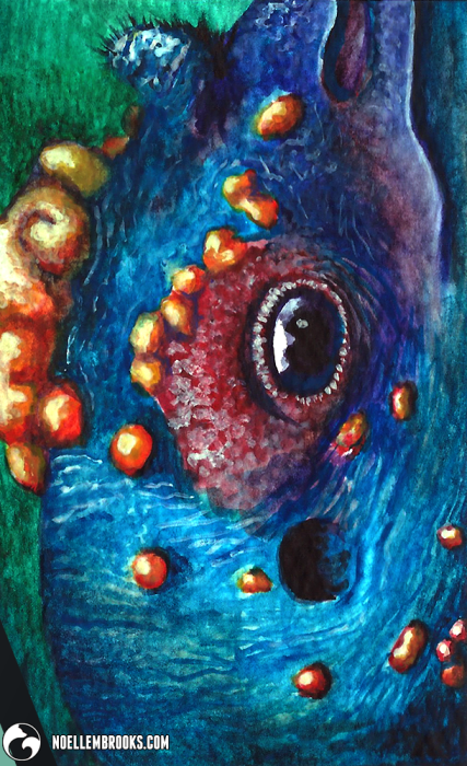 art arts artsy artwork artworks artist artistic image images picture pictures project projects series create creates creative noelle noellembrooks portrait portraits portraiture profile realism realistic detail details detailed soft shading shades paint paints painting paintings painted watercolor watercolour watercolors watercolours watercoloring watercolouring water color colors draw drawing drawings paint paints painting paintings mixed media animal animals kingdom animalia wildlife nature beast beasts creature abstract abstracted non-representational non representational faunafocus ocellated turkey turkeys avian ave bird birds blue red green spurs spur creatures mixedmedia colour colours gradient gradients profile noellebrooks brooks